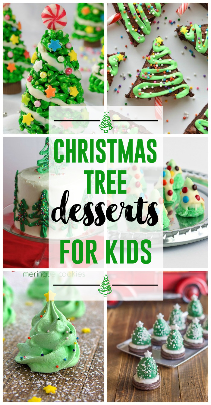 Christmas Desserts For Kids  Christmas Tree Desserts for Kids The Girl Creative