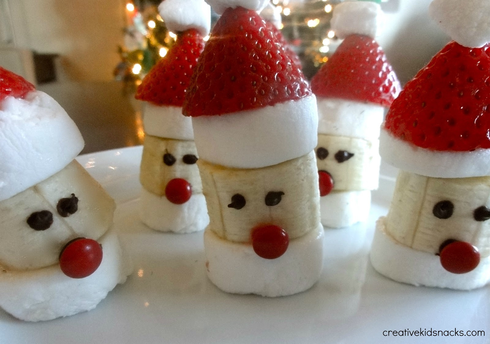 Christmas Desserts For Kids  Santa Party Poppers