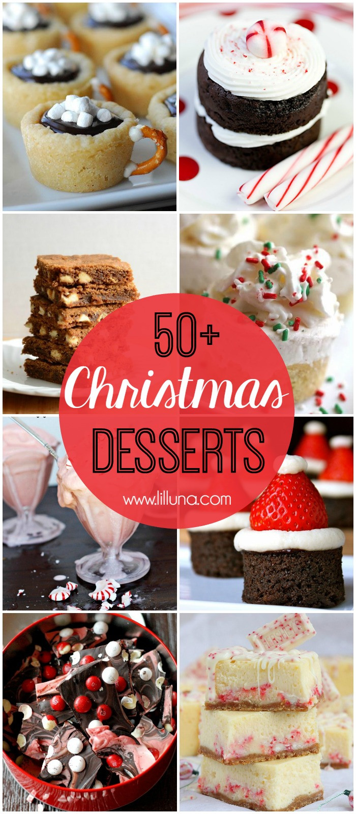 Christmas Desserts Party  Christmas Desserts