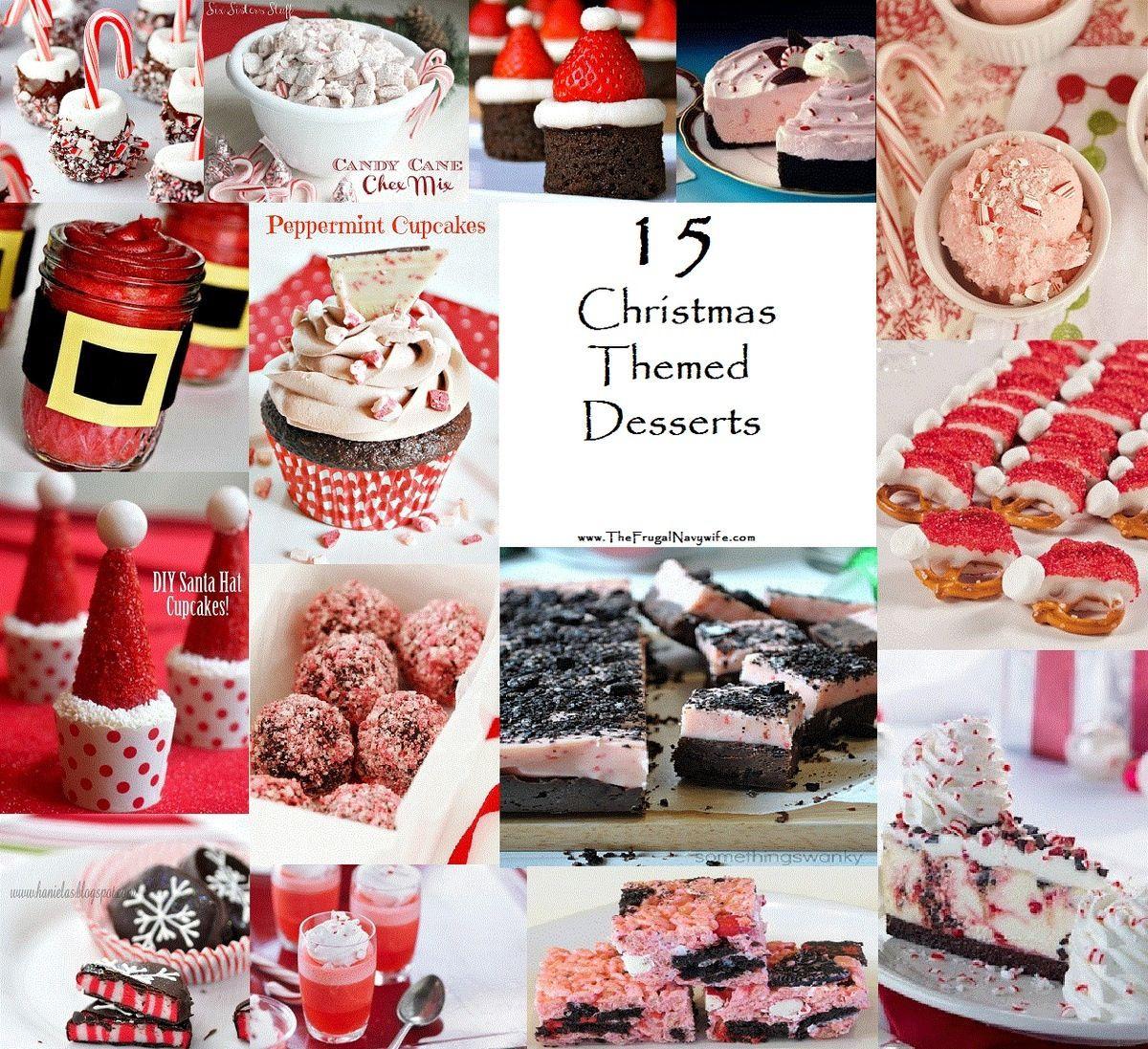 Christmas Desserts Pinterest  Christmas desserts Desserts