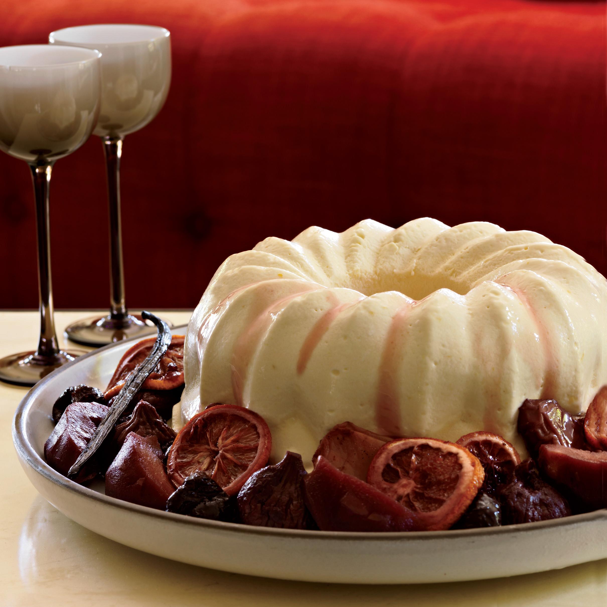 Christmas Desserts Recipe  Brandy Mascarpone Semifreddo Recipe