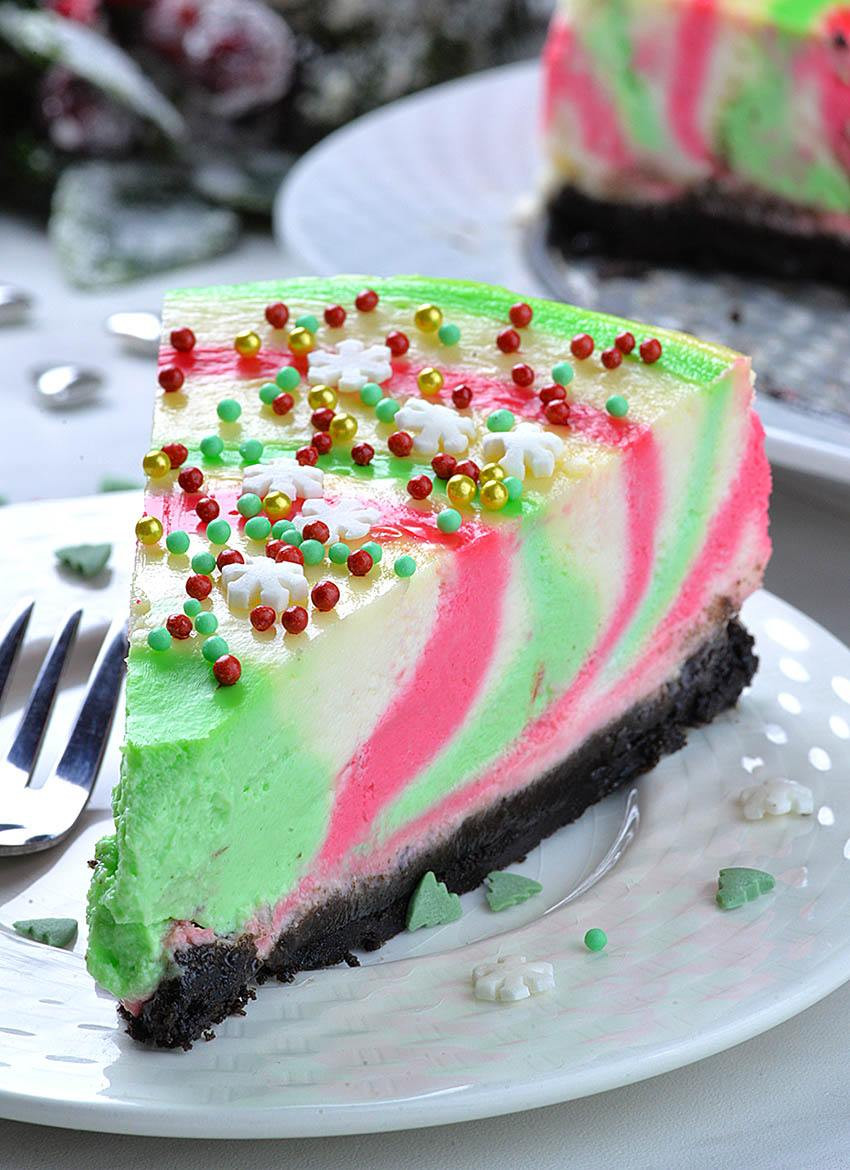 Christmas Desserts Recipes  Christmas Cheesecake