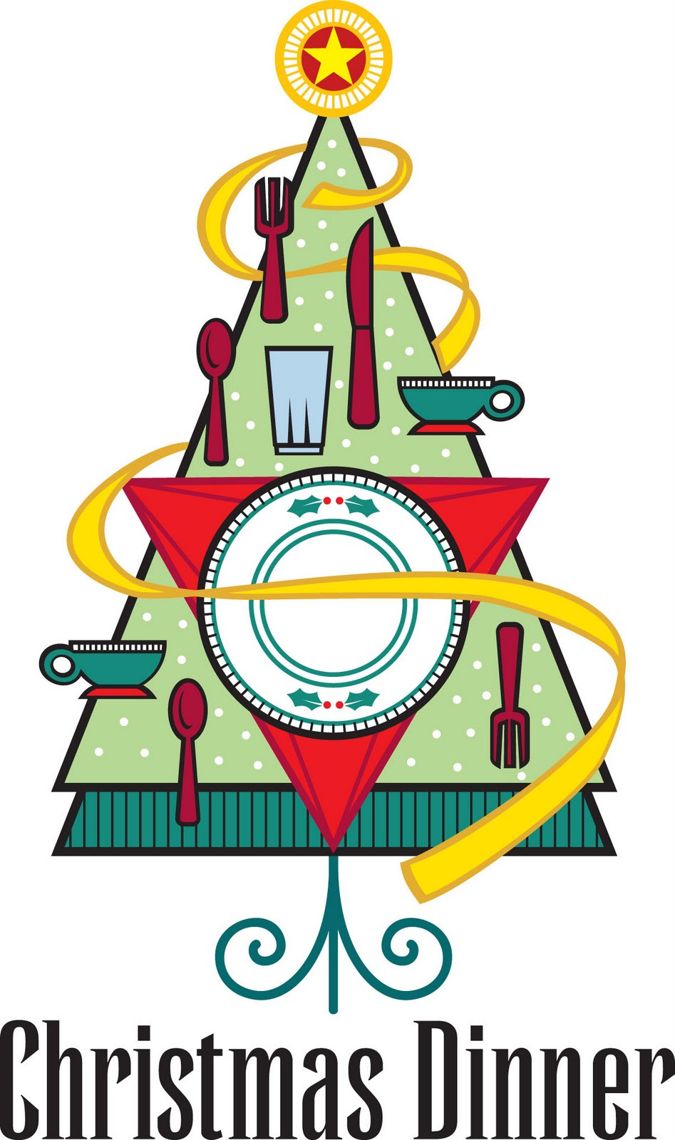 Christmas Dinner Clipart  First United Methodist Church Knoxville Iowa DECEMBER