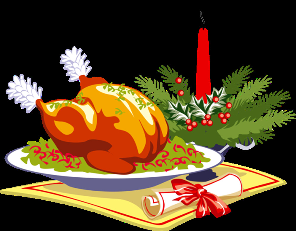 Christmas Dinner Clipart  Christmas Lunch for LDC Clients