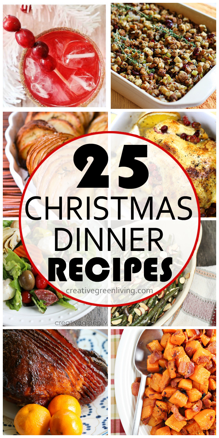 Christmas Dinner Dishes  The Ultimate Christmas Dinner Recipe Guide Creative