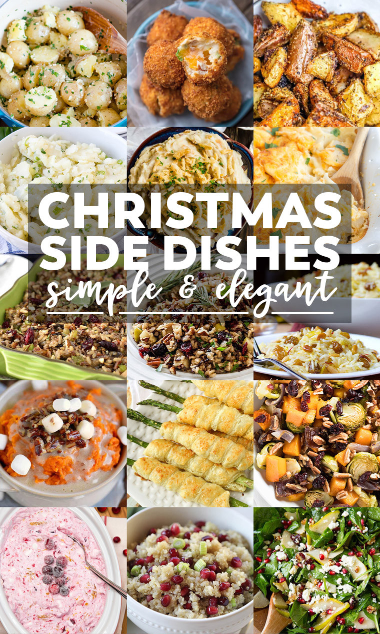Christmas Dinner Dishes  35 Side Dishes for Christmas Dinner Yellow Bliss Road