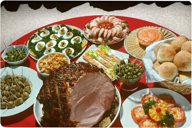 Christmas Dinner Ham Side Dishes  Holiday Ham Recipe Chowhound