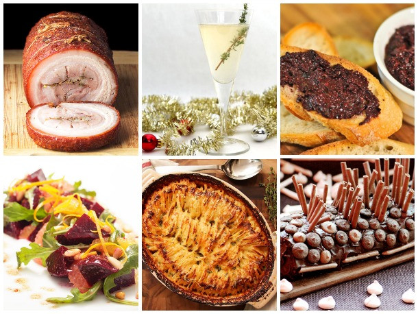 Christmas Dinner Ideas For A Crowd  Serious Entertaining Christmas Dinner to Feed a Crowd