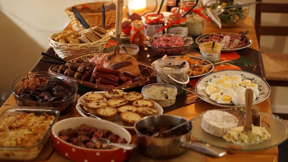 Christmas Dinner Images  Christmas Dinner Buffet Fest · Free photo on Pixabay