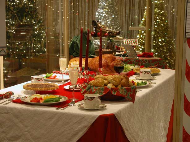 Christmas Dinner Images  Oodlekadoodle Primitives FESTIVE IDEAS TO DECORATE YOUR