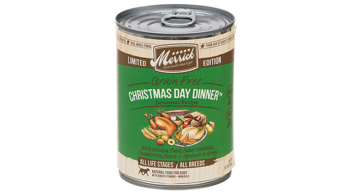 Christmas Dinner In A Can  Christmas Gifts for Dogs and Cats Pamper your pet with