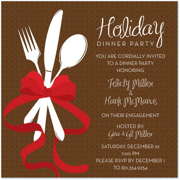 Christmas Dinner Invitation  62 Printable Dinner Invitation Templates PSD AI Word