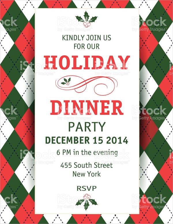 Christmas Dinner Invitation  56 Dinner Invitation Templates in PSD
