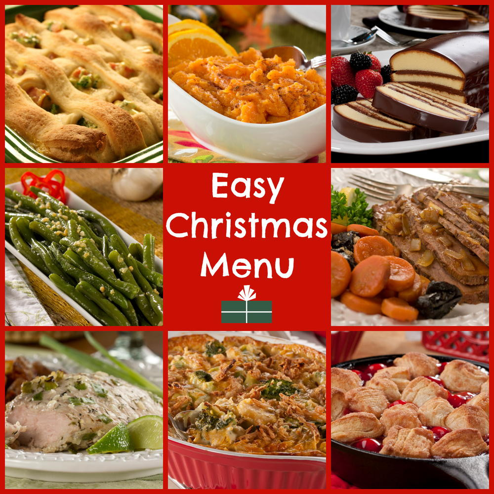 Christmas Dinner Menus  World s Easiest Christmas Dinner Menu