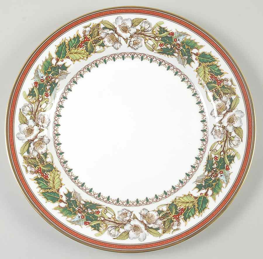 Christmas Dinner Plates  Spode CHRISTMAS ROSE Dinner Plate