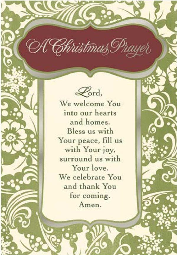 Christmas Dinner Prayer  10 Best ideas about Dinner Prayer on Pinterest