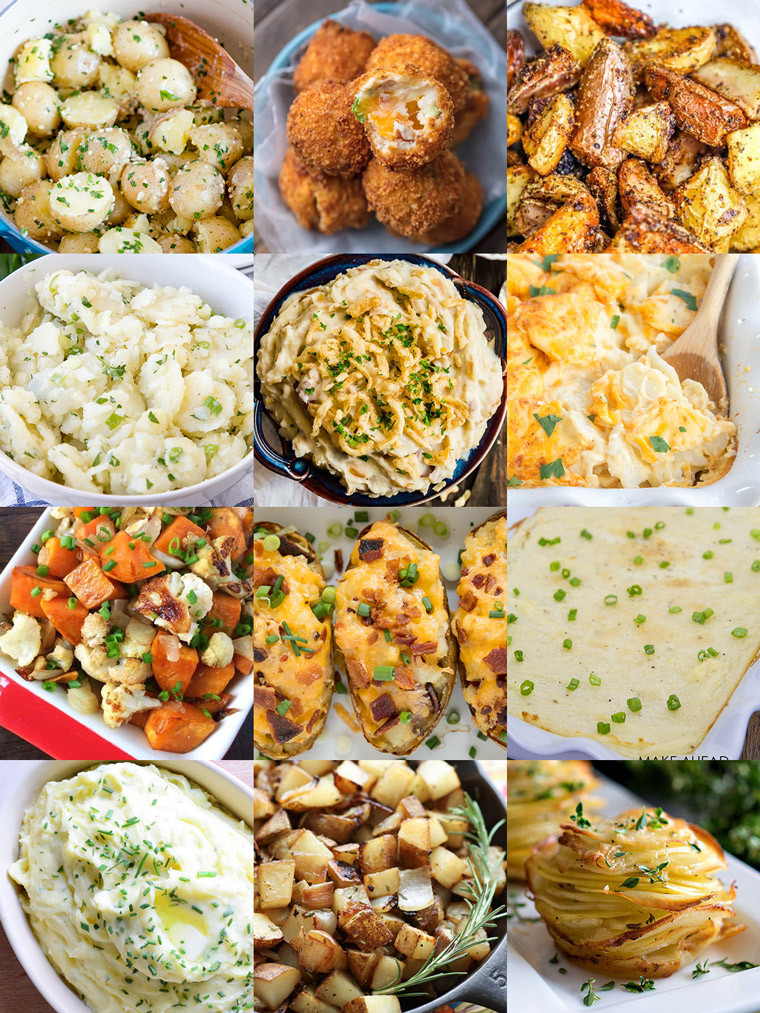 Christmas Dinner Side Dishes  35 Side Dishes for Christmas Dinner Yellow Bliss Road