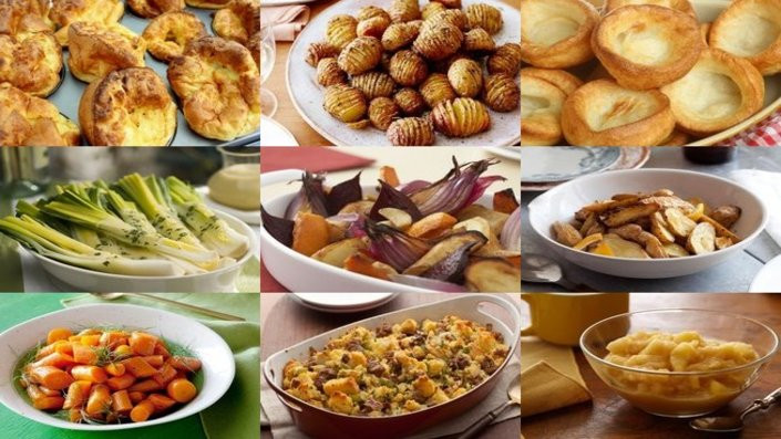 Christmas Dinner Side Dishes Food Network  46 Roast Dinner Side Dishes Recipes