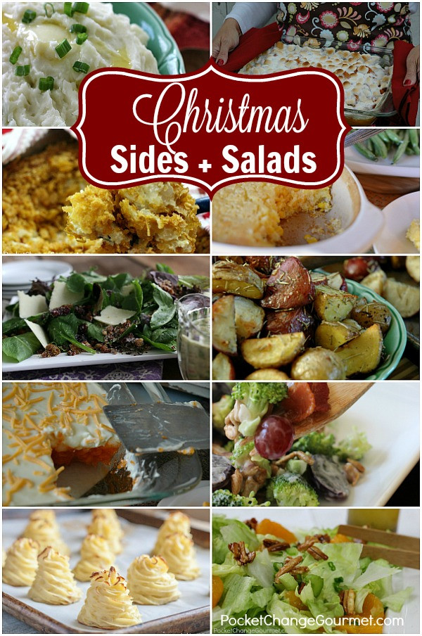 Christmas Dinner Sides  Christmas Side Dishes and Salads Recipe