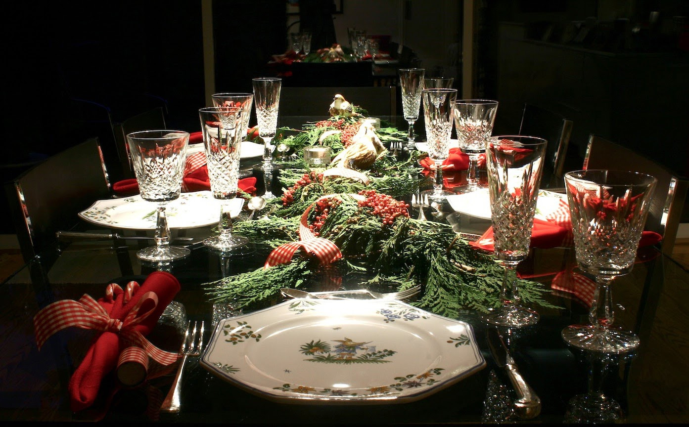 Christmas Dinner Table Decorations  Staying Fit Through the Holidays The Four Percent