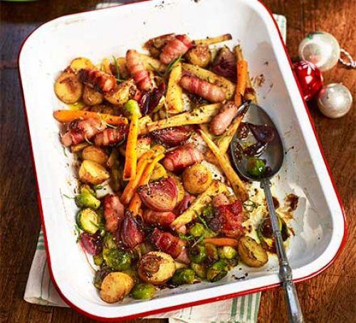 Christmas Dinner Vegetables  Christmas trimmings recipes