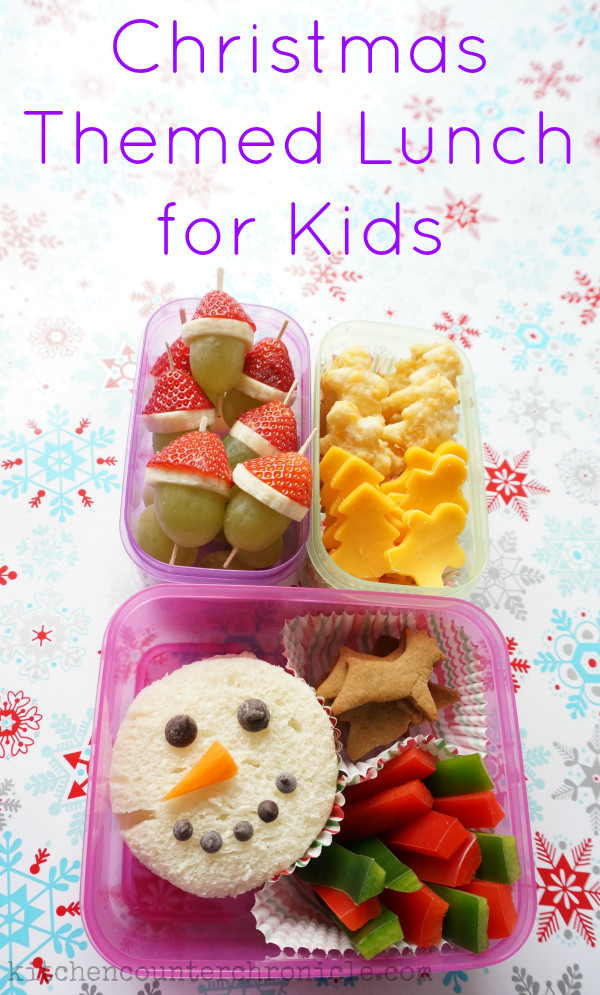 Christmas Dinners For Kids  Christmas Themed Lunch Ideas for Kids