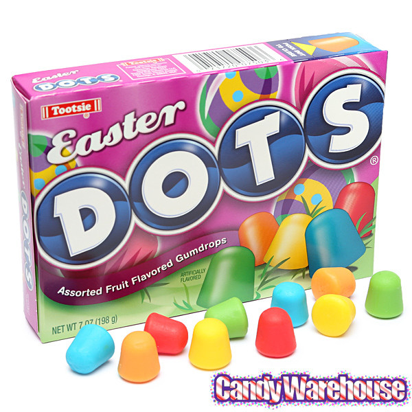 Christmas Dots Candy  Dots Candy Easter 6 Ounce Packs 12 Piece Box