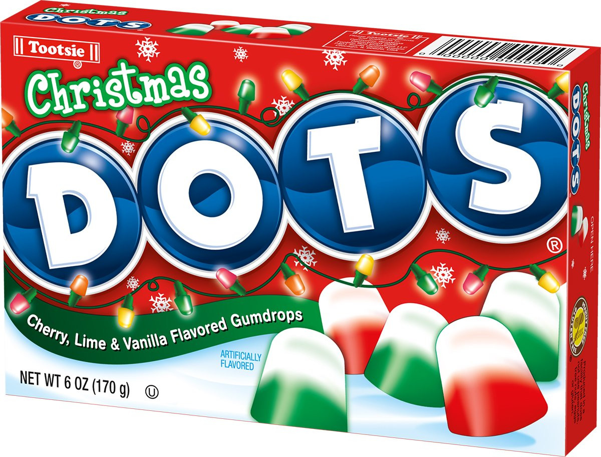 Christmas Dots Candy  Christmas Dots Theater Box 6oz Candy Store