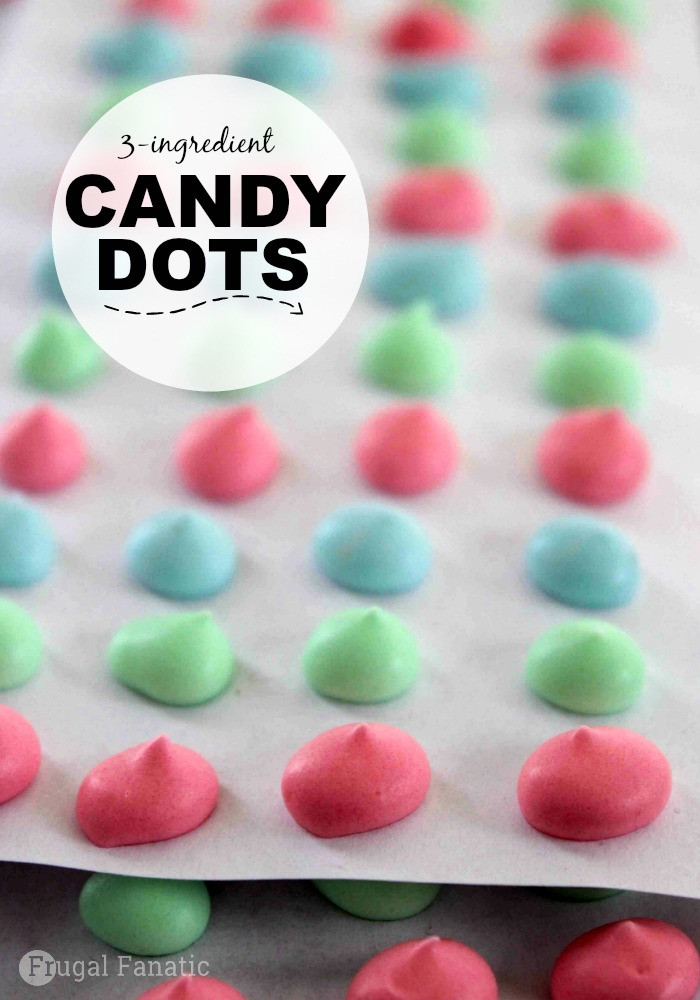 Christmas Dots Candy  Homemade Candy Dots Recipe