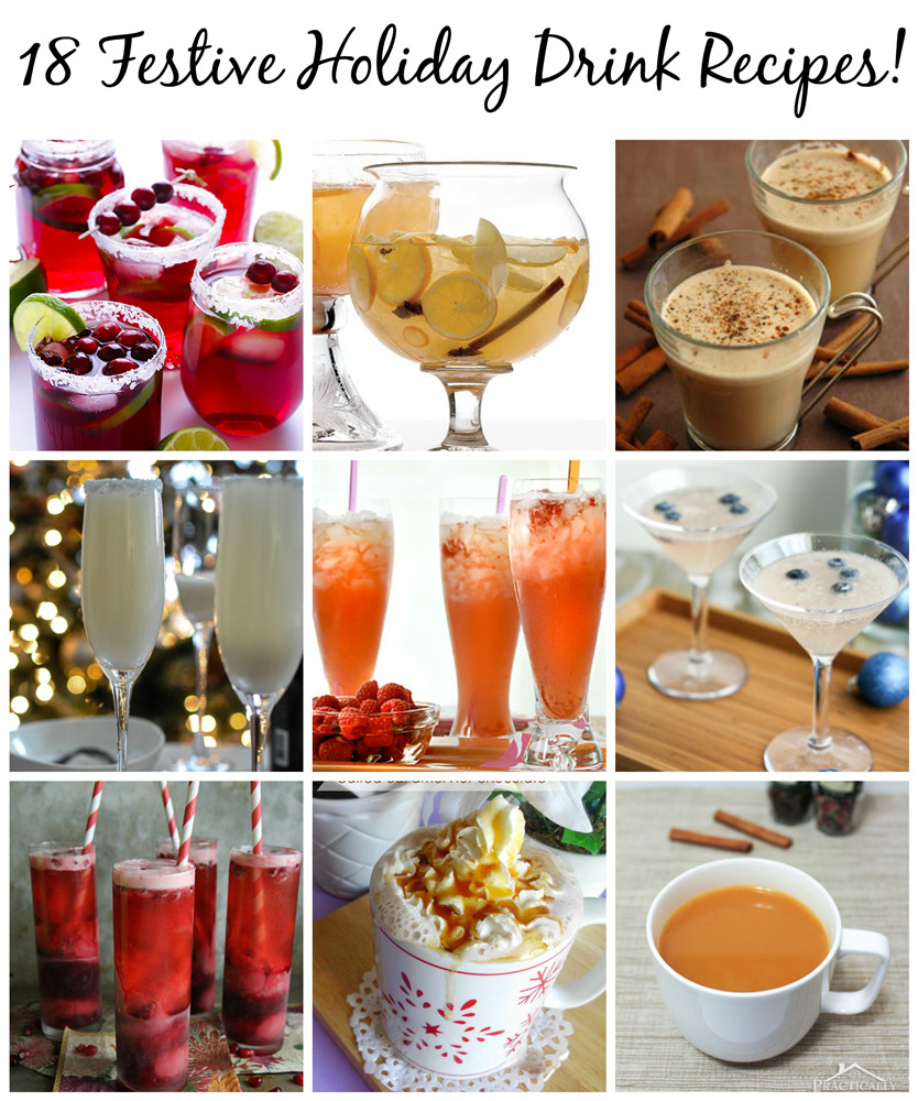 Christmas Drink Recipes With Alcohol  18 Festive Holiday Drink Recipes Pet Scribbles