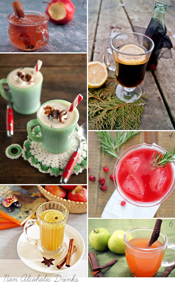 Christmas Drink Recipes With Alcohol  Christmas Cocktails & Non Alcoholic Festive Drinks Merry