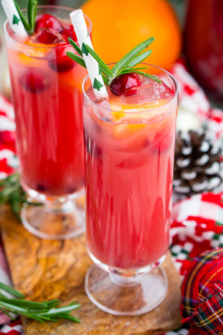 Christmas Drink Recipes With Alcohol  Christmas Punch Boozy or Not Recipe Sugar & Soul