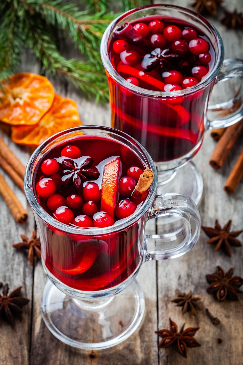Christmas Drink Recipes With Alcohol  Non Alcoholic Holiday Drinks