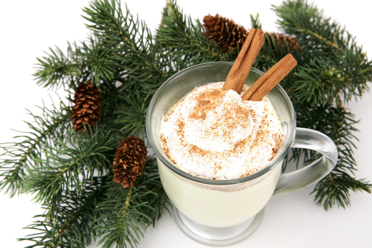 Christmas Eggnog Recipe  Spiced Eggnog Recipe
