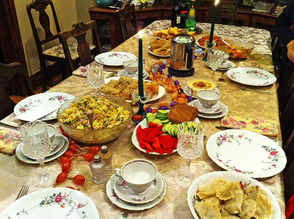 Christmas Eve Dinner  Tasty Vegan Meals
