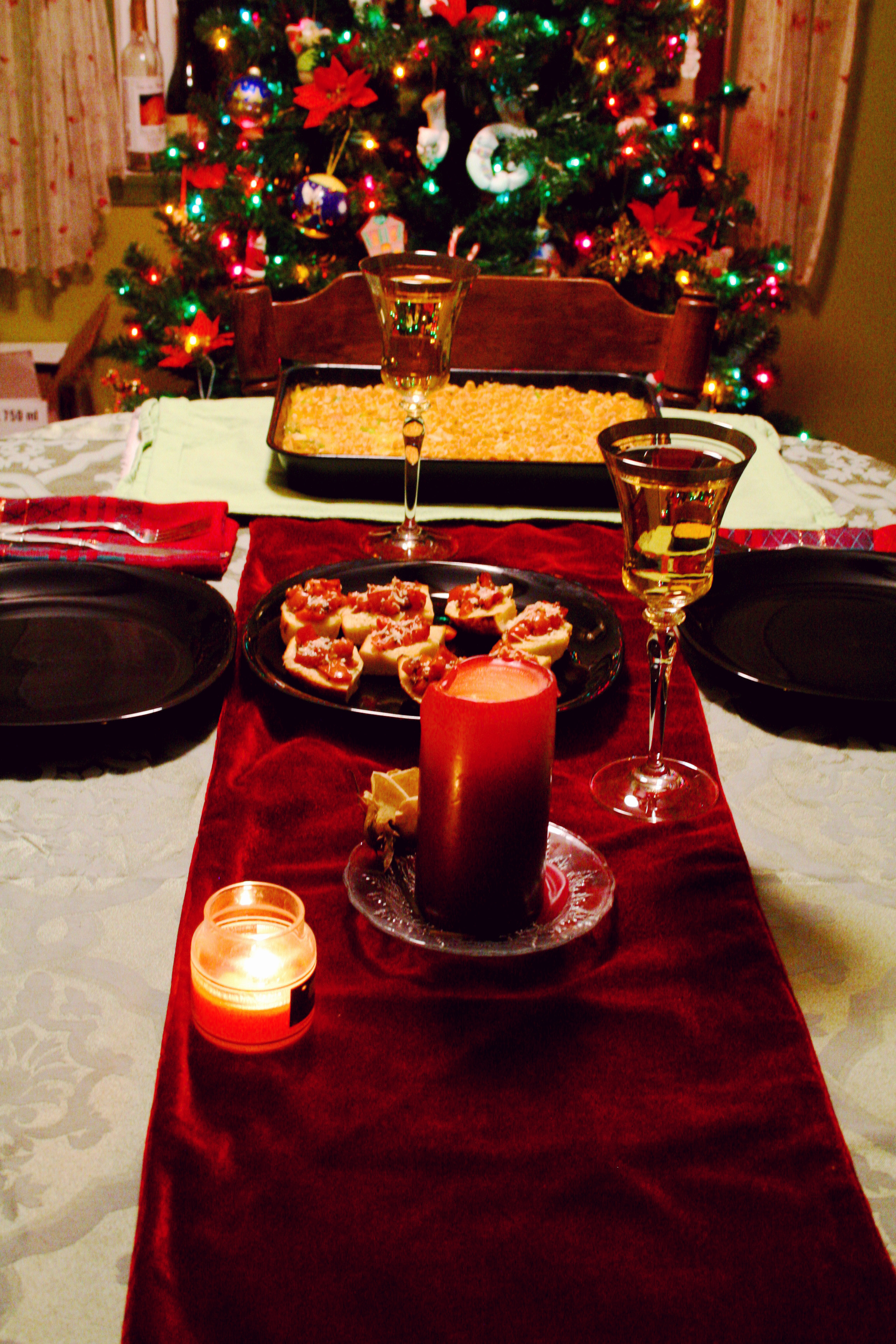 Christmas Eve Dinner  December 2010 Christina Stetler graphy