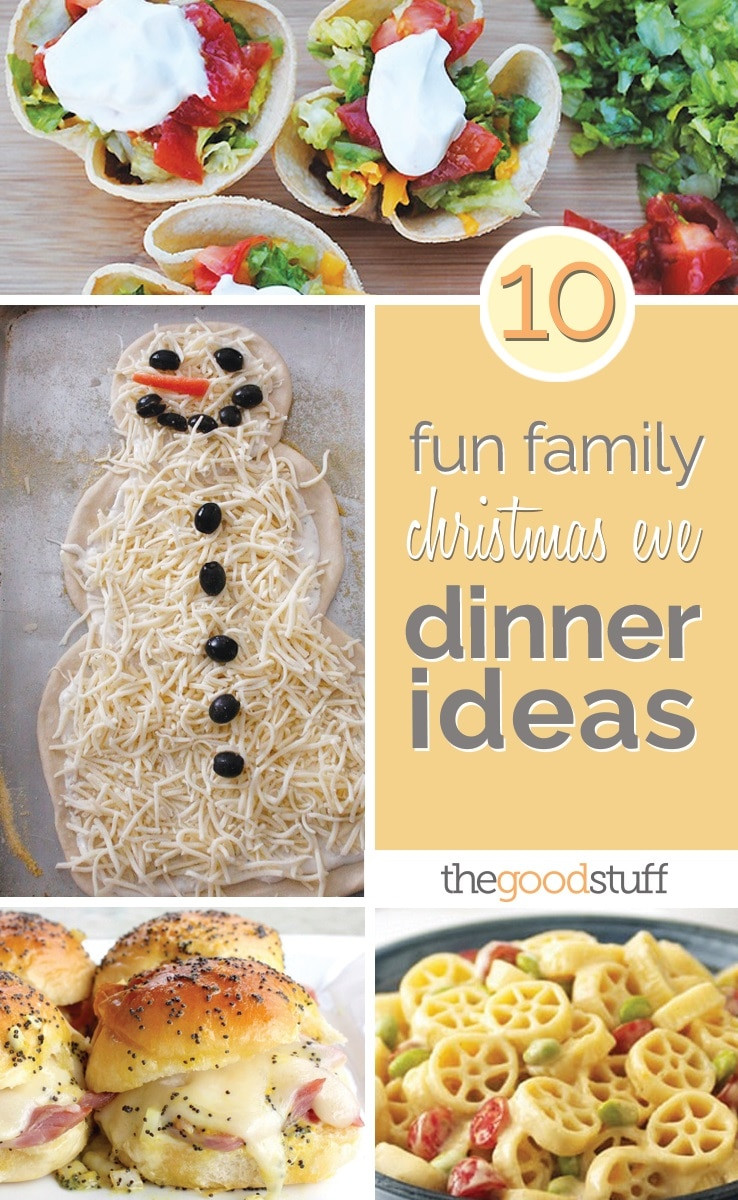 Christmas Eve Dinner Ideas  10 Fun Family Christmas Eve Dinner Ideas thegoodstuff