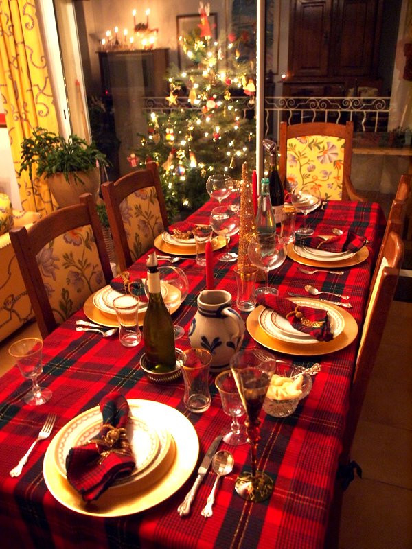 Christmas Eve Dinner  Christmas Reveillon dinner