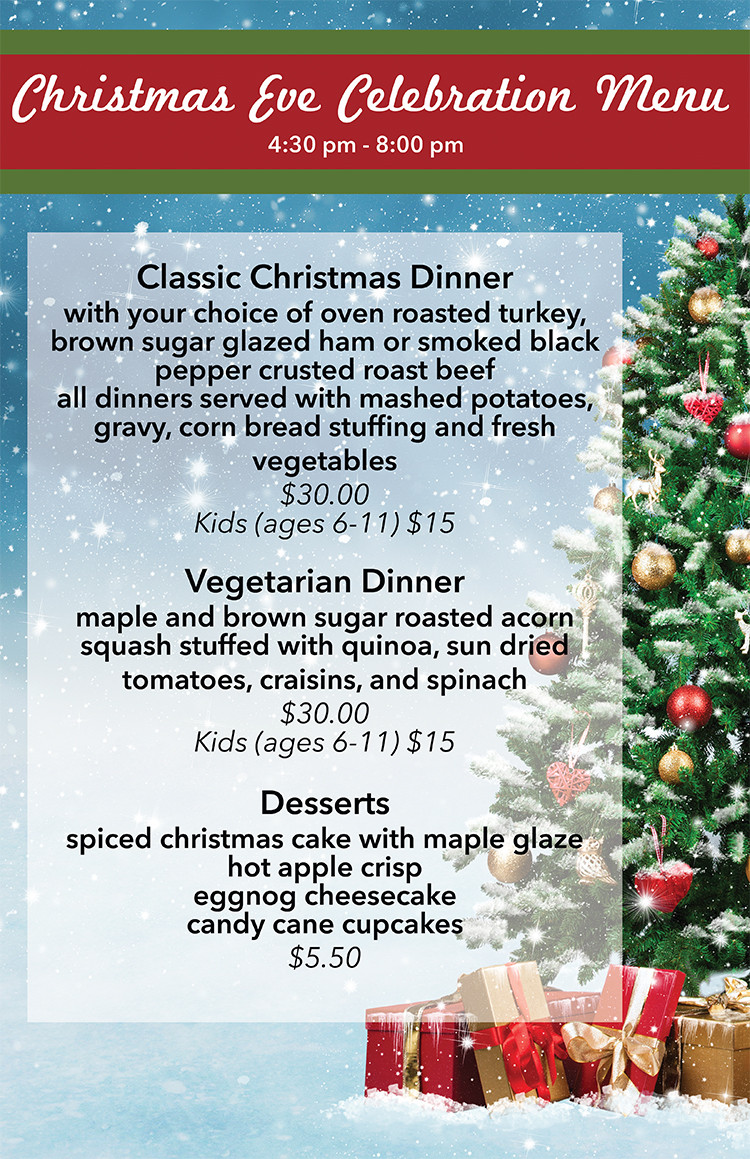 Christmas Eve Dinner Menu  Children s Christmas Eve Celebration