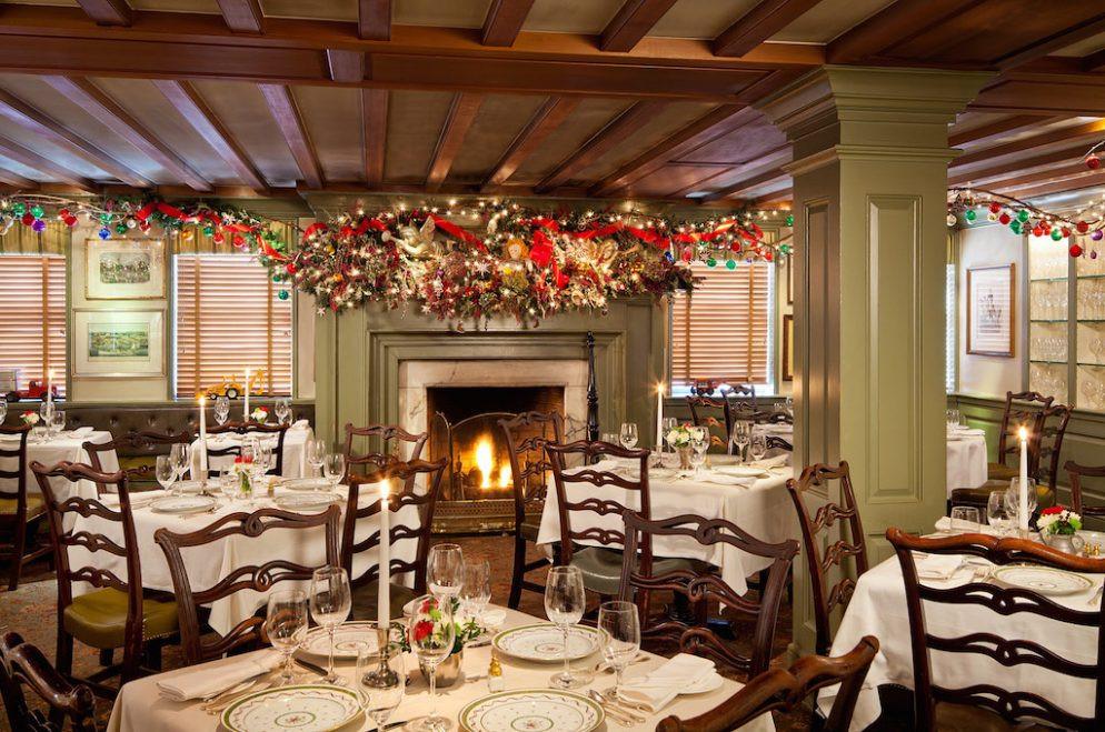 Christmas Eve Dinner Restaurants  12 Great Restaurants for Christmas Eve Dinner Around DC