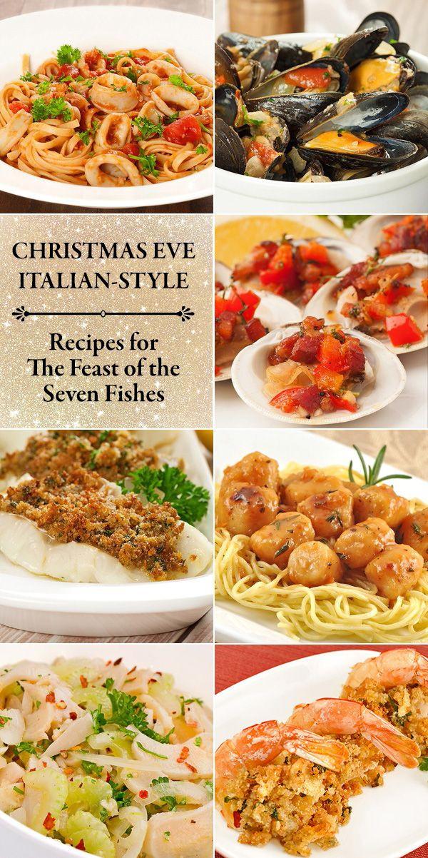 Christmas Eve Fish Recipes  Holiday Menu An Italian Christmas Eve