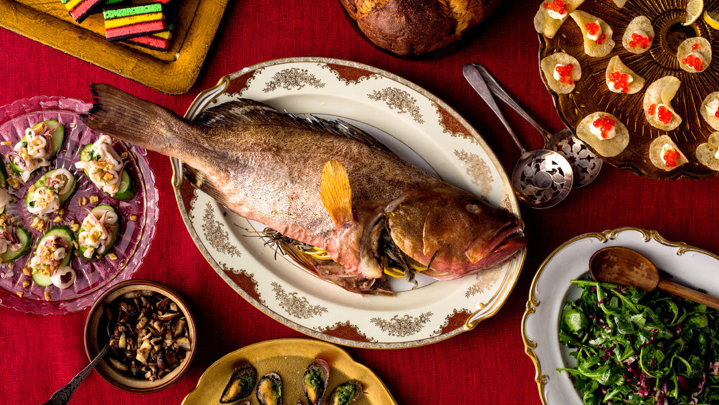 Christmas Eve Fish Recipes  Feasting on Fish to the Seventh Degree NYTimes