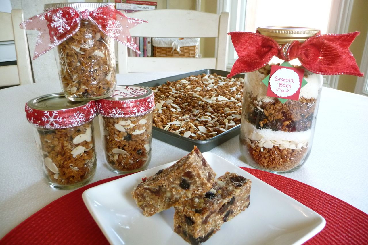 Christmas Food Gifts  Made with Love Granola Gifts Special Guest Post The