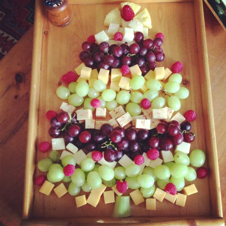 Christmas Fruit Appetizers  Merry Christmas Appetizer tree Christmas tree food