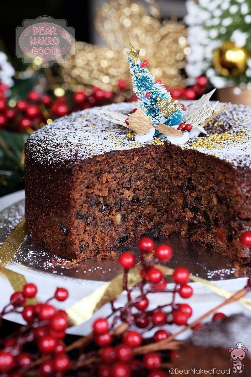 Christmas Fruit Cake Recipe  Quick and Easy Christmas Fruit Cake