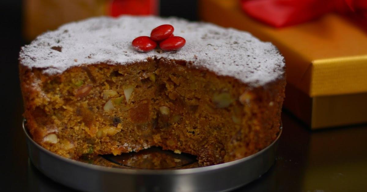 Christmas Fruit Cake Recipe With Rum  Krithi s Kitchen Christmas Fruit Cake Old fashioned Rum