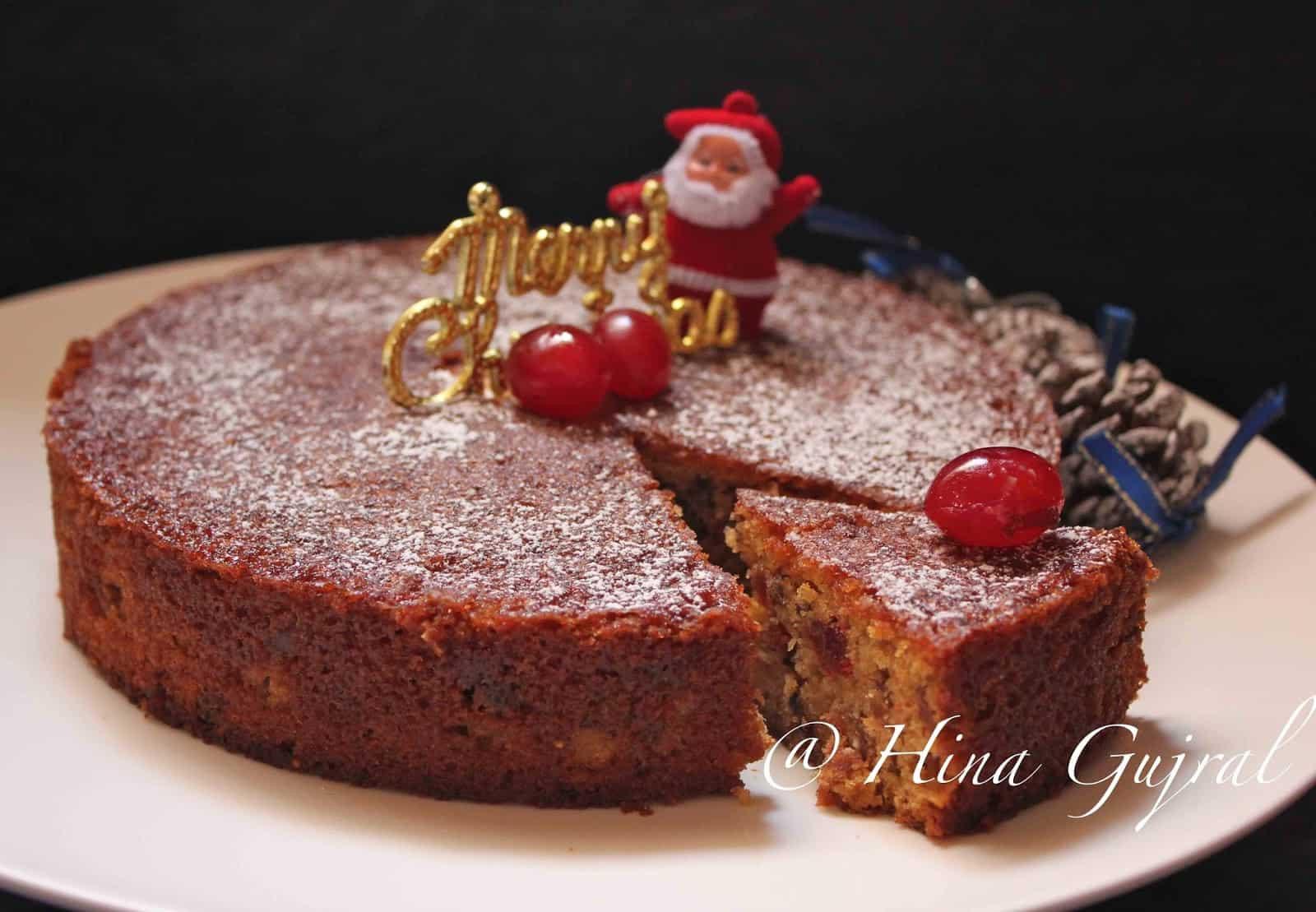 Christmas Fruit Cake Recipe With Rum  Traditional Christmas Fruit & Rum Cake Recipe Fun FOOD