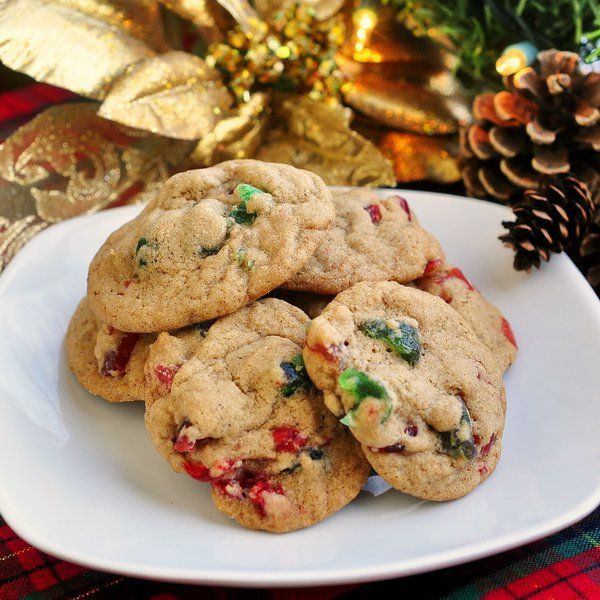 Christmas Fruit Cookies  749 best images about Christmas food on Pinterest