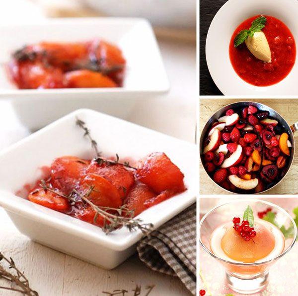 Christmas Fruit Desserts  Christmas Fruit Desserts — Fruit Dessert for Holiday