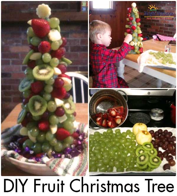 Christmas Fruit Desserts  Fruit Christmas Tree Holiday Dessert Idea